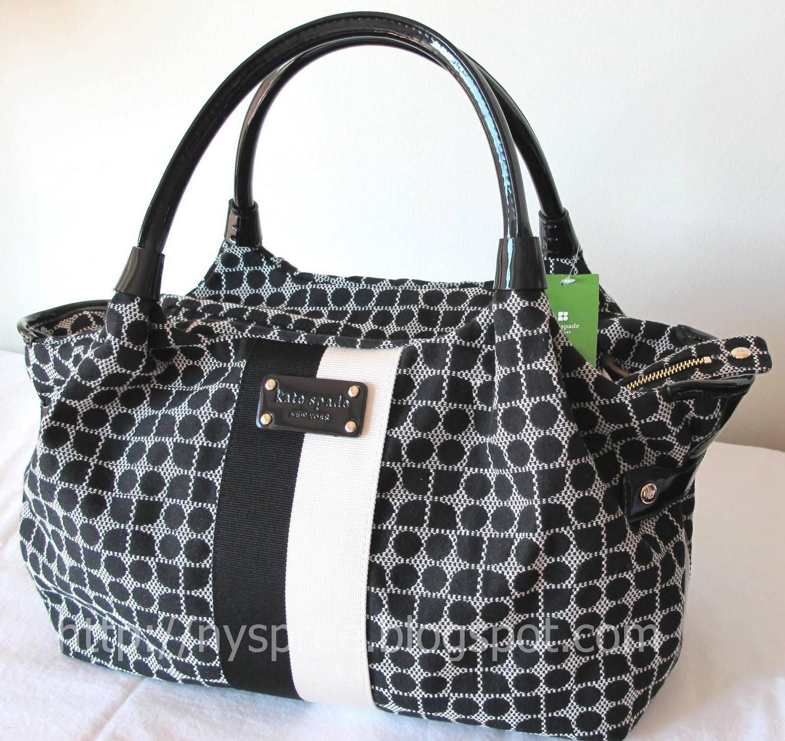 Kate Spade Stevie Classic Noel Black Shoulder Bag 111
