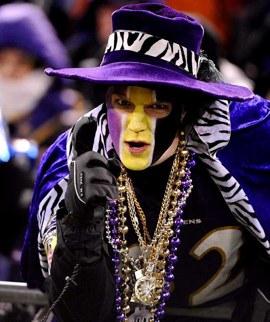 Ravens fan