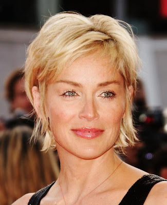 Celebrity Hairstyles: Sharon Stone Hairstyle