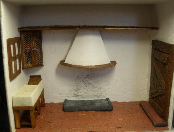 Mis manualidades y miniaturas cocina rustica for Manualidades para casa rustica