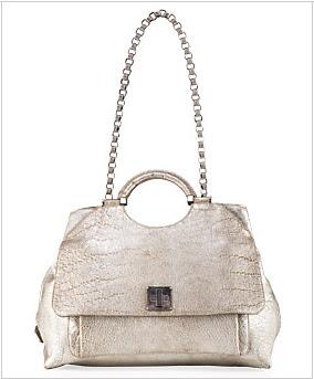 Marc Jacobs Collection Large Metallic Rihanna Bag