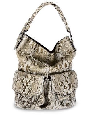 Sergio Rossi Python 'Gisele' Bag