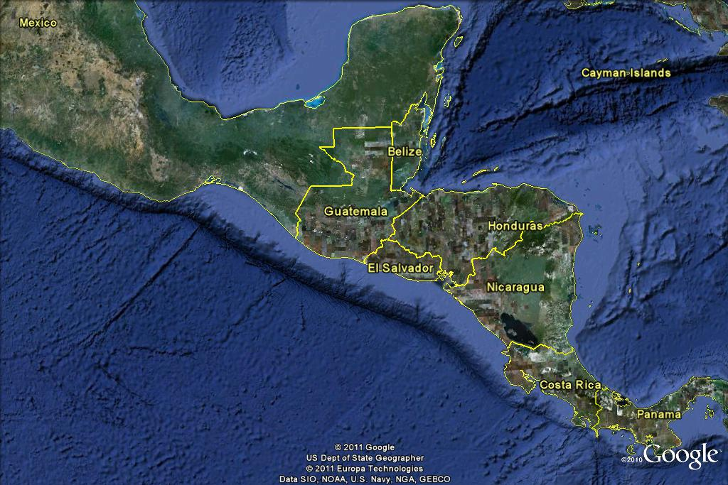 Stories In Medicine The El Salvador Mission Trip Basics - El salvador earth map