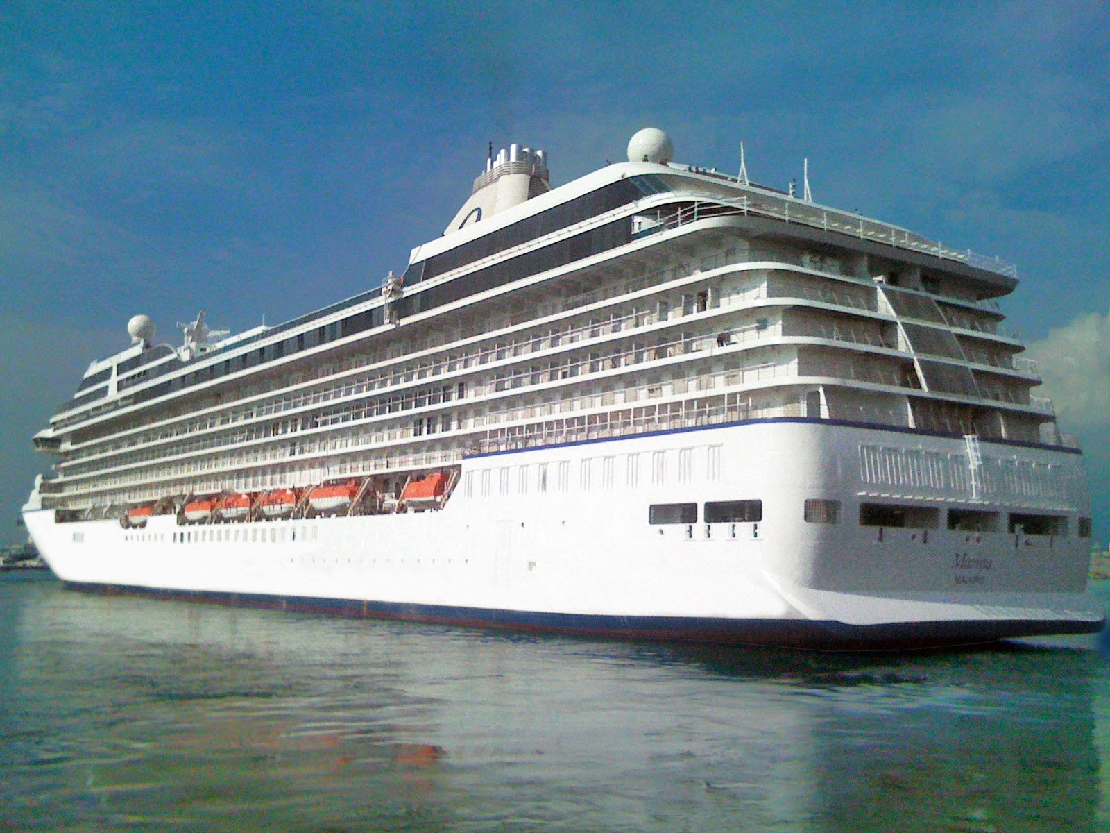 Oceania Marina Has Very Successful Sea Trials