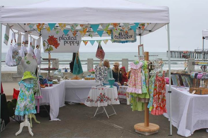 Inspiring ideas with artist jeanne winters 7 1 10 8 1 10 for How to set up a booth at a craft show