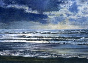 Original seascape by Shari Erickson