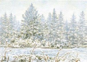Plein Aire Landscape by Artist Shari Erickson
