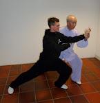 Prof. Zhang Guangde und Heiko Baumann
