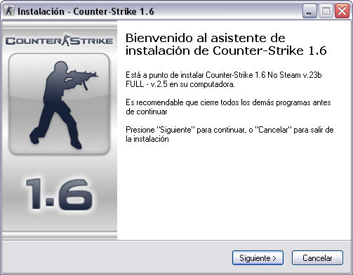 descargar counter strike 1.6 v23 no steam