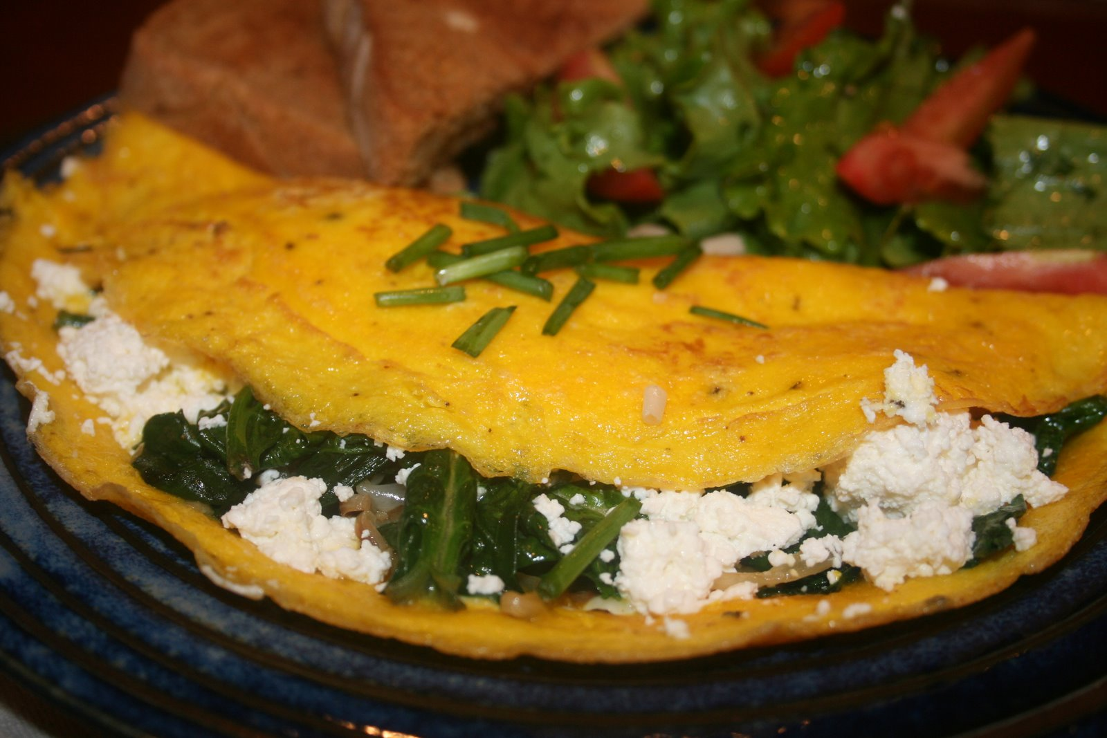 cottage cheese omelette