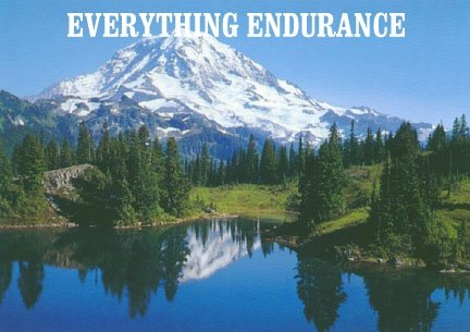 EVERYTHING ENDURANCE