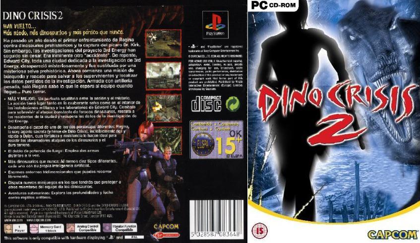 ���� ����������� Dino Crisis 2 PC