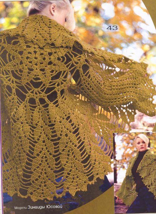 Patrones e imagenes chalecos crochet - Imagui