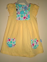 Dress Pyshel Yellow