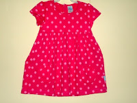 Dress Pyshel Red Polkadot