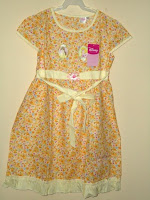 Dress Disney Princess Yellow