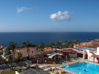 Monumental Lido Hotel, Madeira. View from balcony