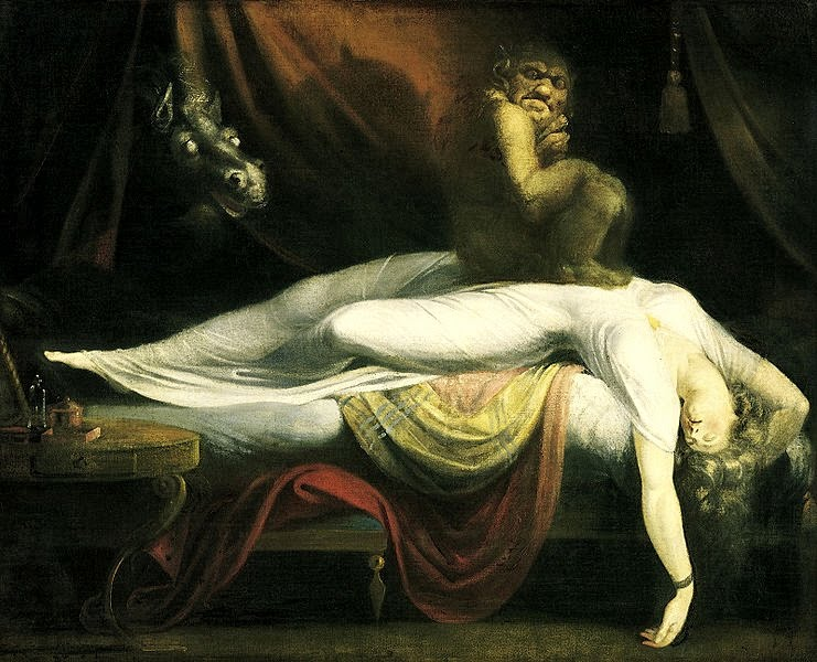 Oil Painting by John Henry Fuseli: The Nightmare 1781
