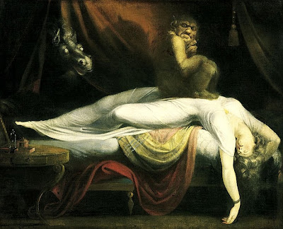 Sleep paralysis - the nightmare