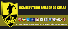 Site da Liga de Futebol Amador do Guará