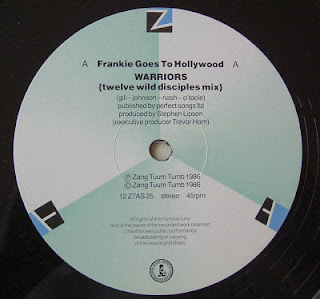 Frankie Goes To Hollywood - Warriors (Twelve Wild Disciples Mix) (Maxi Single)1986