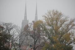 jesienny Ostrów Tumski
