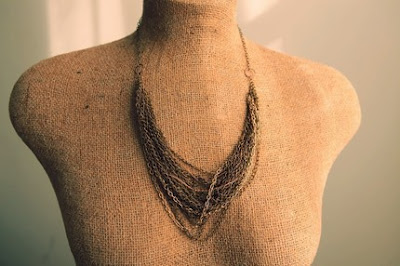eighth anniversary gift idea: bronze necklace