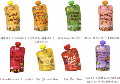 organic pouch baby food from ella's kitchen