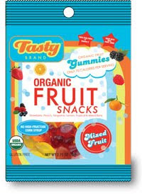 tasty brand fruit snacks