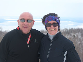 Harry and Barb at the Summit
