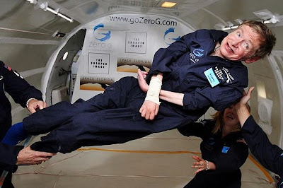 Stephen Hawking in Zero Gravity NASA