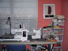 my sewing machine area