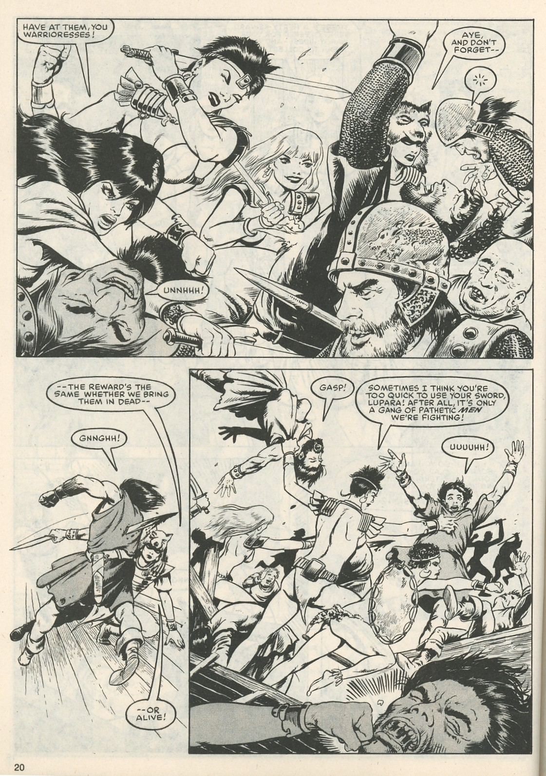 The Savage Sword Of Conan Issue #111 #112 - English 20
