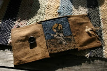 Punch Needle Witch Sewing Case