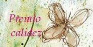 Este blog tiene el premio Calidez