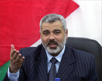 Ismail Haniya, Prime Minister, Palestinian National Authority