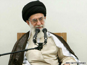 Ayatollah Khmenei, Supreme Leader of Iran