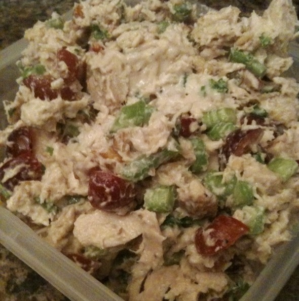 Chicken Salad With Grapes And Pecans Fruit and walnut chicken salad