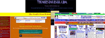 Three of the Best Worst Websites