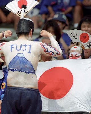 bodypainting,  Mexican Football, Japan Football