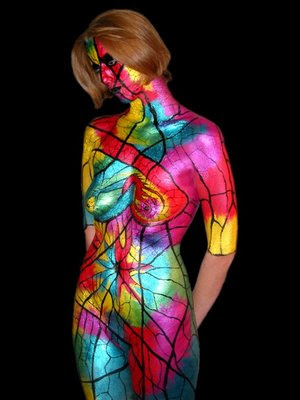 body art, bodypainting