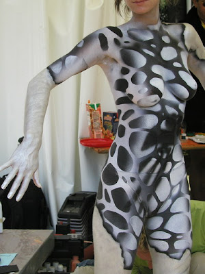 Body Painting Photos - Abstract