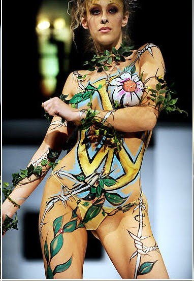 New Style Art Body Painting 2010