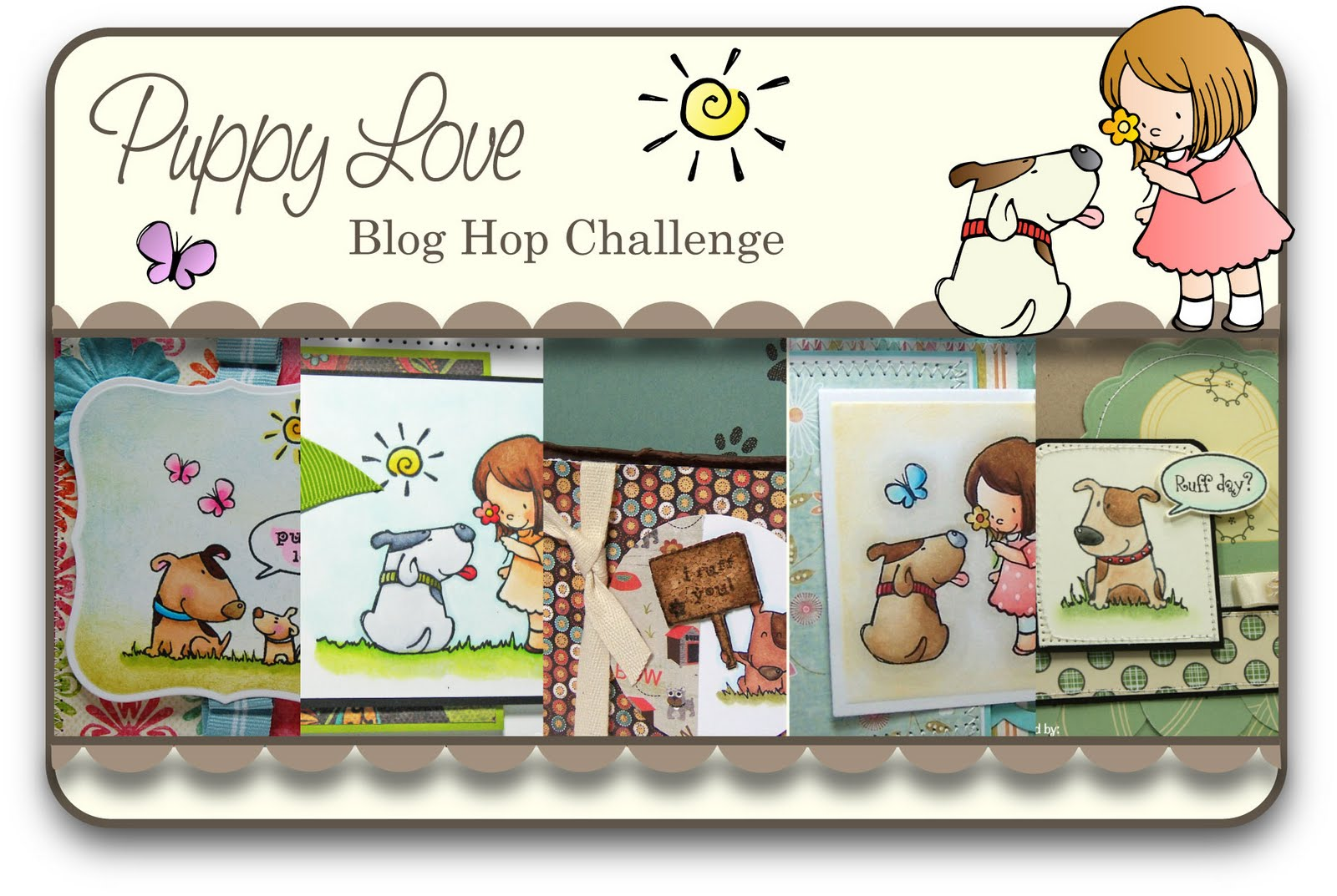 stamp impressions blog hop happy.
