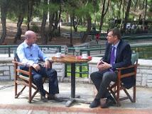 Συνέντευξη με τον δημοσιογράφο Νίκο Παπαχρήστου