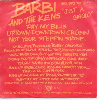 Barbi And The Kens Mini LP