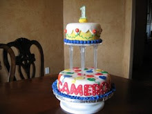 Cameron's First Birthday Cake!  July 2, 2009