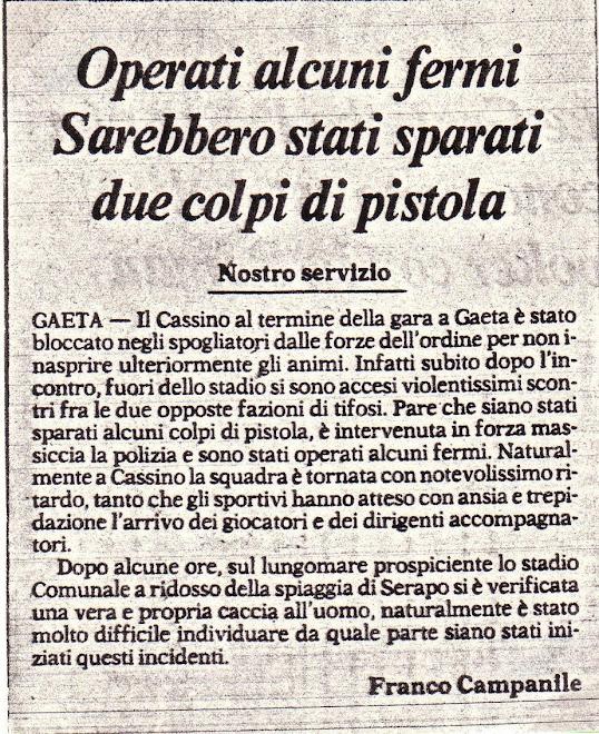 ANNO IX - ARTICOLO CORRIERE DELLO SPORT