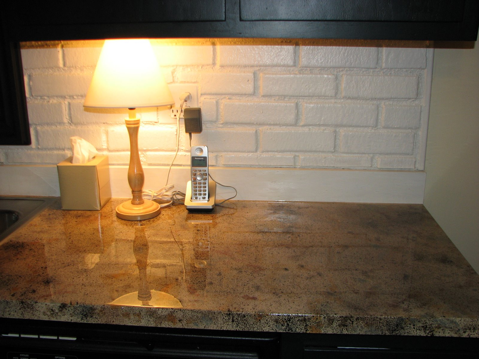 Nesting: DIY Faux Granite Countertops! - Happily Married/Recaps ...