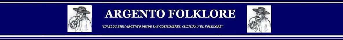 ARGENTO FOLKLORE
